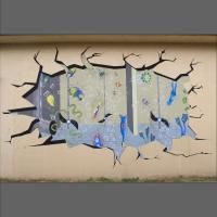 artystyczne malowanie ścian- mural