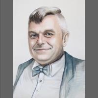 portret mężczyzny  na prezent