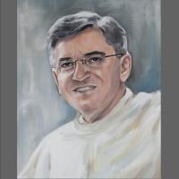 portret księdza