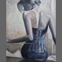 Kobieta w gorsecie