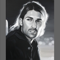 portret męski
